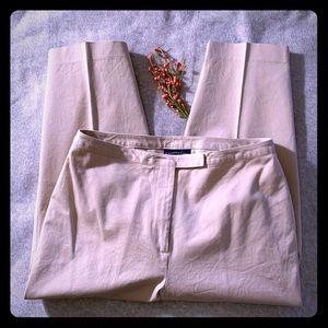 Charter Club Tan Capri Slacks Pants Size 12